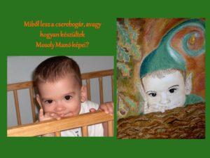 A képen a borítón található rajz és az eredeti fotó látható egymás mellett